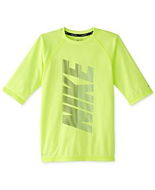 Nike Big Boys Rift Half-Sleeve Dri-FIT Rash Guard