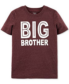 Big Boys Big Brother-Print T-Shirt