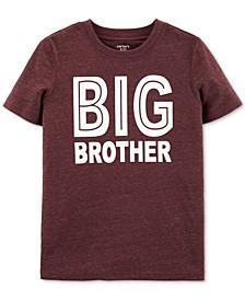 Big Boys Big Brother-Print T-Shirt