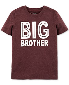 Carter's Big Boys Big Brother-Print T-Shirt