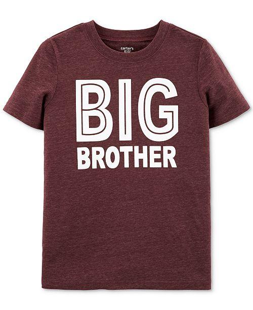 Carter's Big Boys Big Brother-Print T-Shirt
