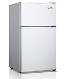 SPT 3.1 Cubic feet Double Door Refrigerator with Energy Star - White