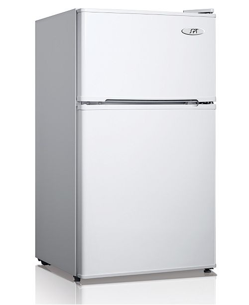 SPT Appliance Inc. SPT 3.1 Cubic feet Double Door Refrigerator with Energy Star - White
