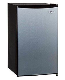 SPT 3.3 Cubic feet Compact Refrigerator with Energy Star - Stainless