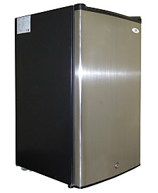 SPT 3.0 Cubic feet Upright Freezer with Energy Star - Stainless Steel