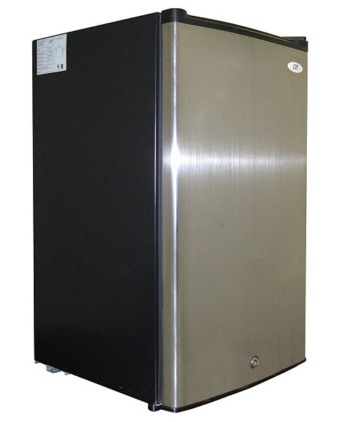 SPT Appliance Inc. SPT 3.0 Cubic feet Upright Freezer with Energy Star - Stainless Steel