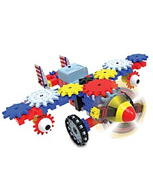 Techno Gears - Aero Trax Plane (60+ Pieces)