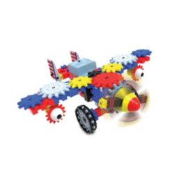 The Learning Journey Techno Gears - Aero Trax Plane (60+ Pieces)