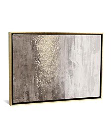 iCanvas Glitter Rain Ii by Jennifer Goldberger Gallery-Wrapped Canvas Print