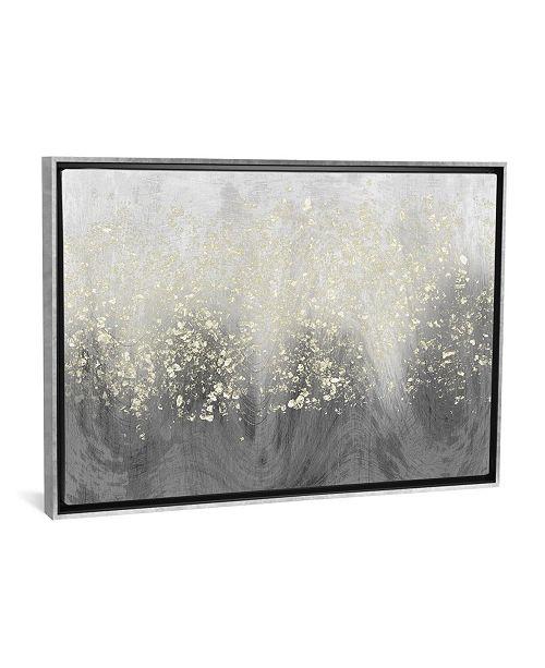 "iCanvas Glitter Swirl I by Jennifer Goldberger Gallery-Wrapped Canvas Print - 18"" x 26"" x 0.75"""