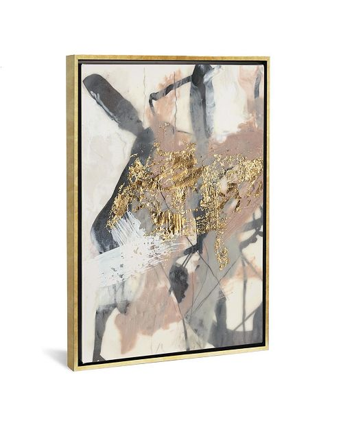 "iCanvas Golden Blush I by Jennifer Goldberger Gallery-Wrapped Canvas Print - 26"" x 18"" x 0.75"""