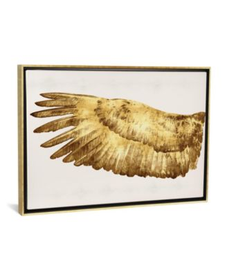 "Golden Wing I by Kate Bennett Gallery-Wrapped Canvas Print - 26"" x 40"" x 0.75"""
