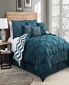 Etta 7 Pc Queen Comforter Set