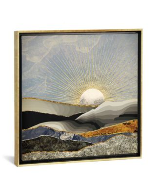 """Morning Sun by Spacefrog Designs Gallery-Wrapped Canvas Print - 37"""" x 37"""" x 0.75"""""""