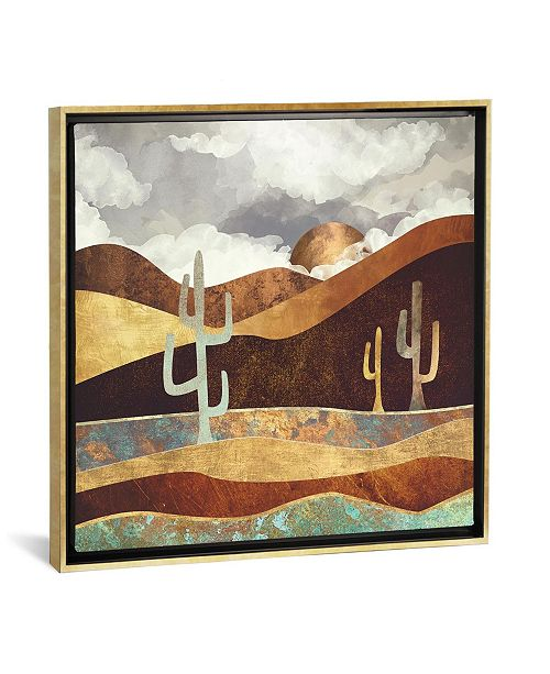 """iCanvas Patina Desert by Spacefrog Designs Gallery-Wrapped Canvas Print - 18"""" x 18"""" x 0.75"""""""