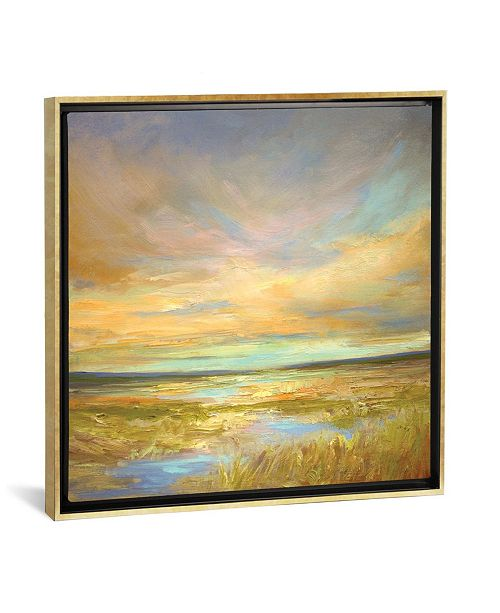 """iCanvas Morning Sanctuary by Sheila Finch Gallery-Wrapped Canvas Print - 37"""" x 37"""" x 0.75"""""""