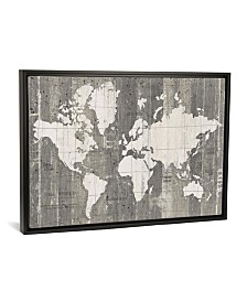 "iCanvas Old World Map by Wild Apple Portfolio Gallery-Wrapped Canvas Print - 26"" x 40"" x 0.75"""