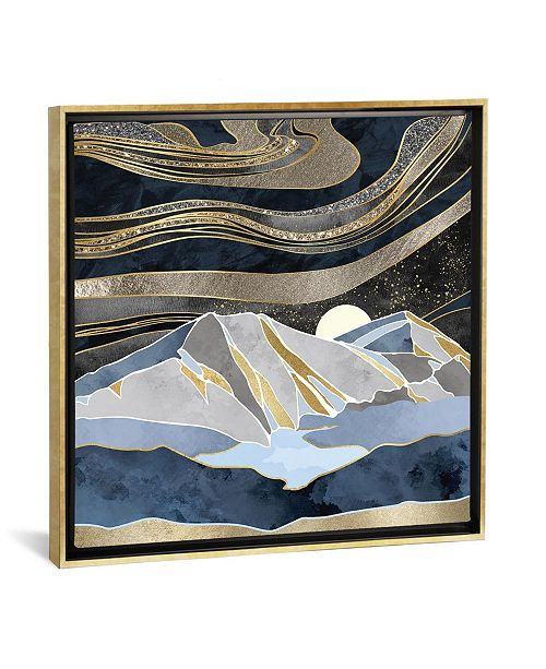 """iCanvas Metallic Sky by Spacefrog Designs Gallery-Wrapped Canvas Print - 18"""" x 18"""" x 0.75"""""""