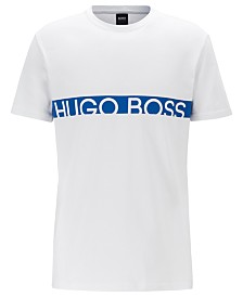 BOSS Men's Slim-Fit UPF 50+ Logo T-Shirt