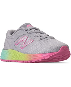 ce42371869c5a New Balance Toddler Girls' Fresh Foam Arishi V2 Running Sneakers from  Finish Line