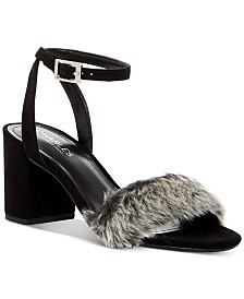 CHARLES By Charles David Kandy Faux-Fur Sandals