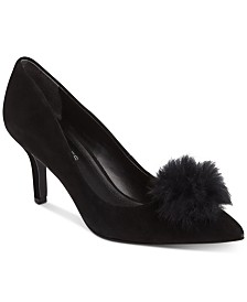 CHARLES By Charles David Sadie Pom-Pom Pumps
