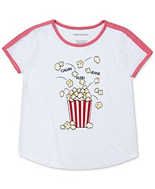 Big Girls Popcorn T-Shirt