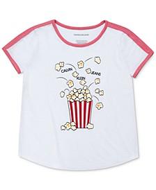 Big Girls Popcorn T-Shirt