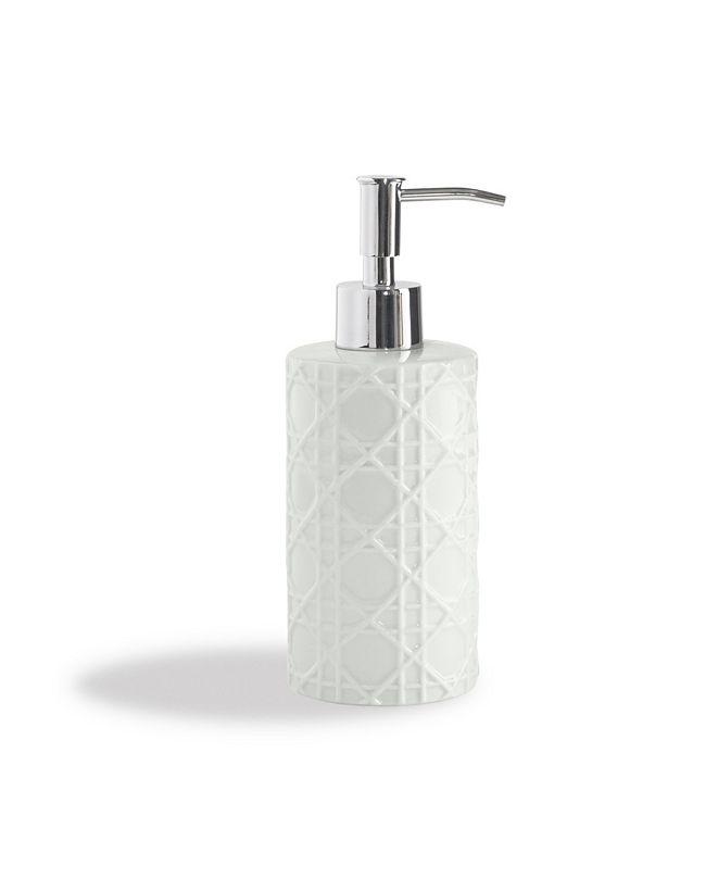 Cassadecor Embossed Porcelain Lotion Dispenser