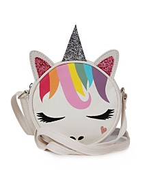 Glitter Rainbow Unicorn Crossbody