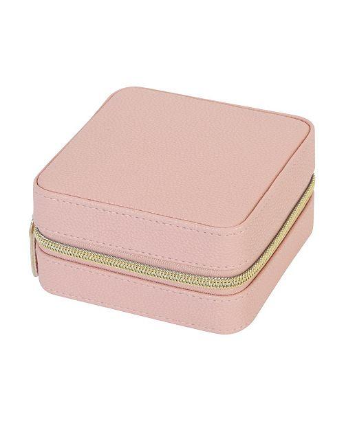 Ruby + Cash Mini Zippered Travel Jewelry Organizer Box
