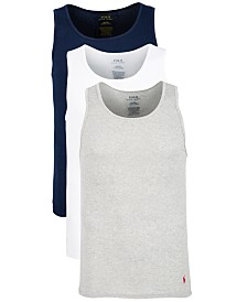 Polo Ralph Lauren Men's 3-Pk. Cotton Tank Tops