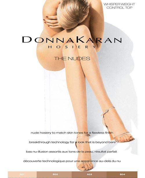 Donna Karan Women's Beyond Nudes Control Top Pantyhose DKS004