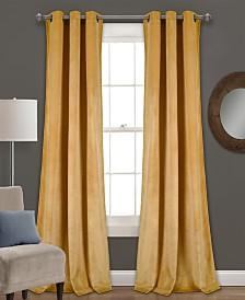 """Prima Velvet 84""""x38"""" Window Panel Set"""