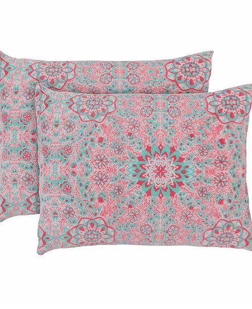 Ivory Ella Shae Ultra Soft Plush Standard Sham Pair