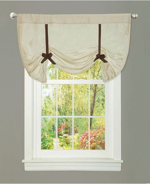 "Lush Decor Lydia 28""x42"" Single Valance"
