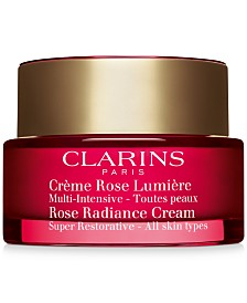 Clarins Super Restorative Rose Radiance Cream, 1.7-oz.