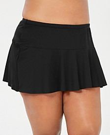 Plus Size Beach Club Swim Skirt