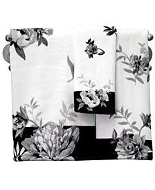 "Lenox Bath Accessories, Moonlit Garden 11"" x 18"" Fingertip Towel"