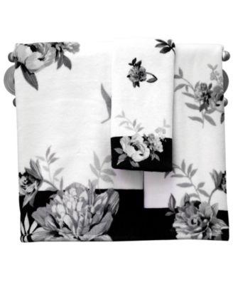 lenox bath towels moonlit garden collection