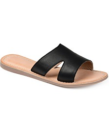 Journee Signature Women's  Walker Sandals