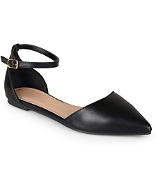 Journee Collection Women's Reba Flats
