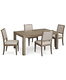 Melbourne Dining 5-Pc. Set (Expandable Table & 4 Side Chairs)
