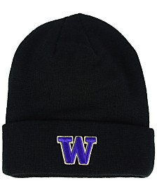 Zephyr Washington Huskies Basic Team Color Cuff Knit Hat