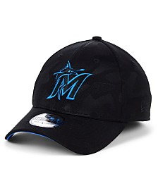 New Era Miami Marlins Tonal Camo 39THIRTY Cap