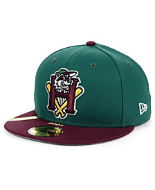 Hudson Valley Renegades MiLB 100TH Anniversary Patch 59FIFTY-FITTED Cap