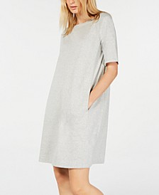 Boat-Neck Pocket Dress