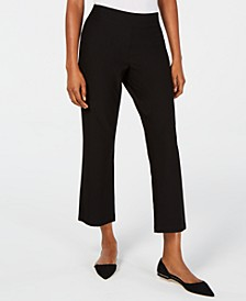Flared Ankle Pants, Regular & Petite