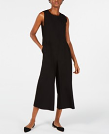 Eileen Fisher Cropped Jumpsuit