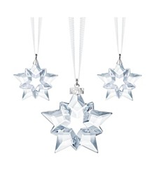 Swarovski 2019 Christmas Ornament Set of 3